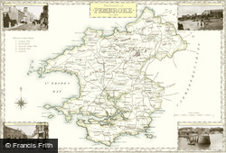 Map of Pembrokeshire