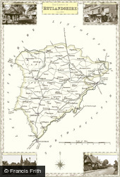 Map of Map of Rutlandshire
