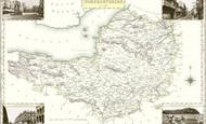 Map of Somerset