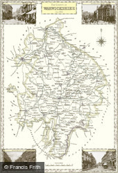 Map of Map of Warwickshire