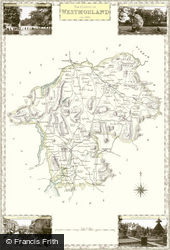 Map of Westmorland