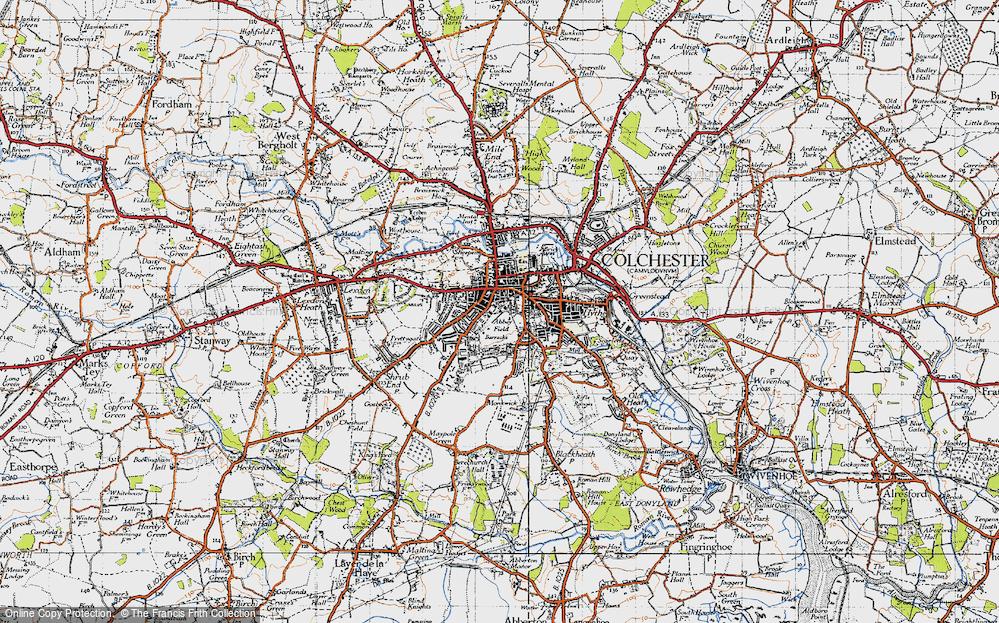 Abbey Field, 1945