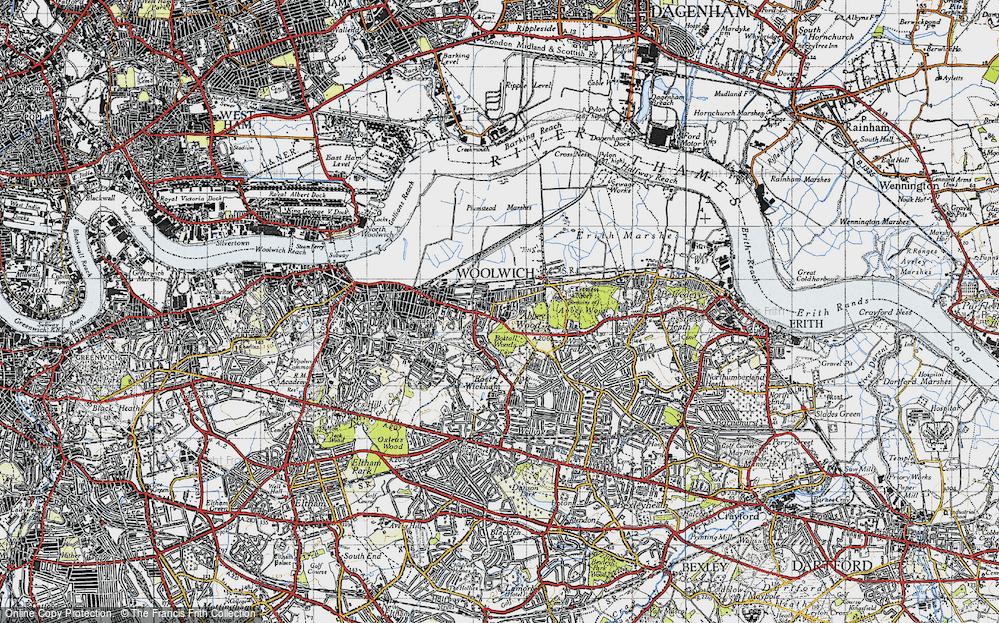 Abbey Wood, 1946