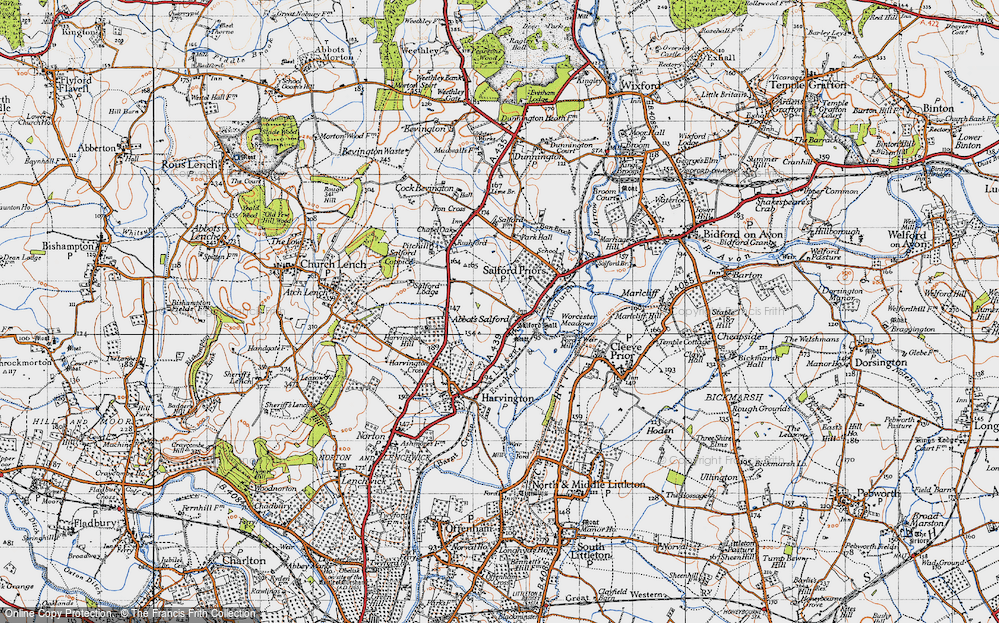 Abbot's Salford, 1946