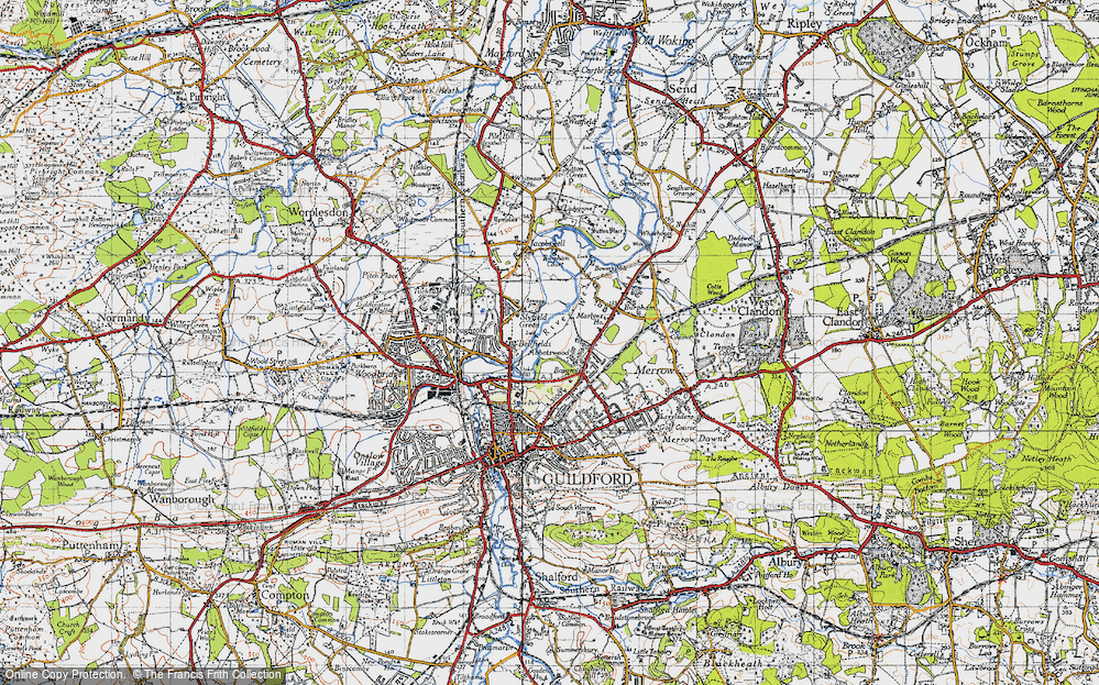 Old Map of Abbotswood, 1940 in 1940