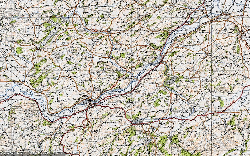 Aberbechan, 1947