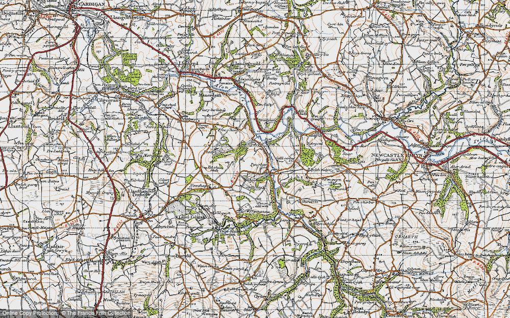 Abercych, 1947