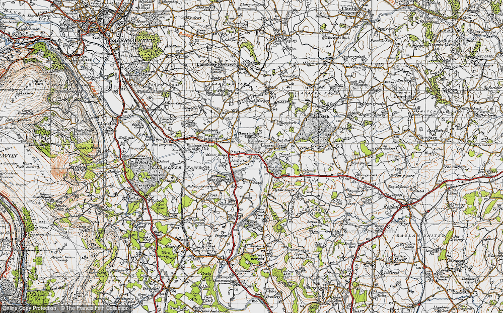 Aberffrwd, 1946