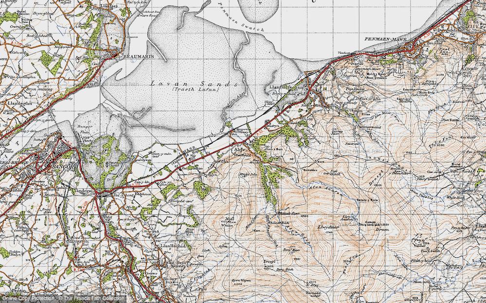 Abergwyngregyn, 1947