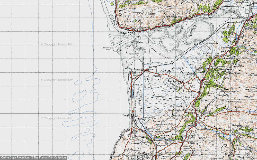 Old Map of Aberlerry, 1947 in 1947
