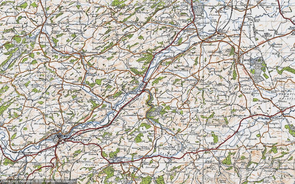 Abermule, 1947