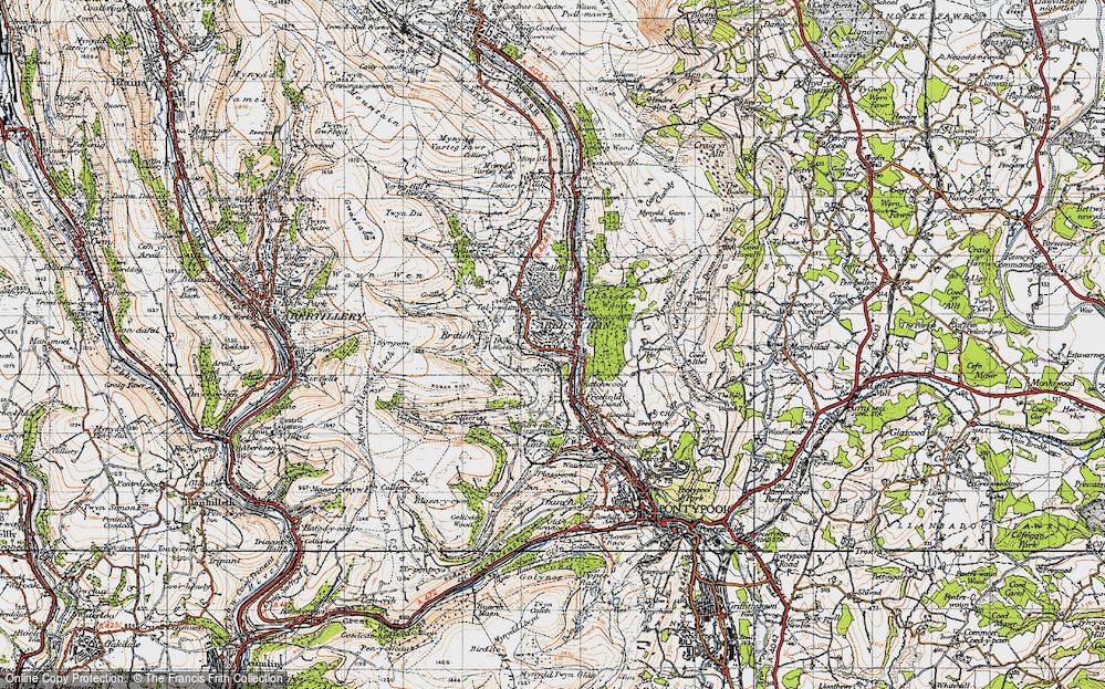 Abersychan, 1947