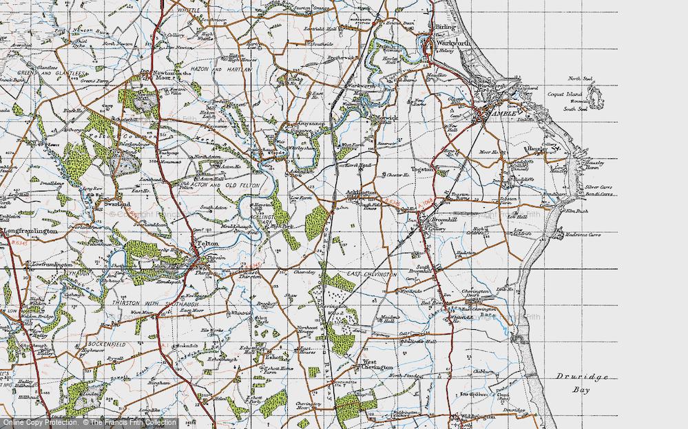 Acklington, 1947