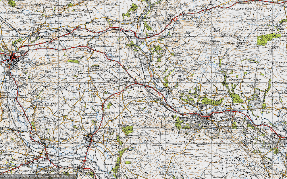 Old Map of Addingham, 1947 in 1947