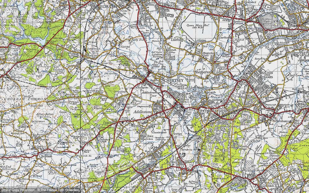 Addlestonemoor, 1940