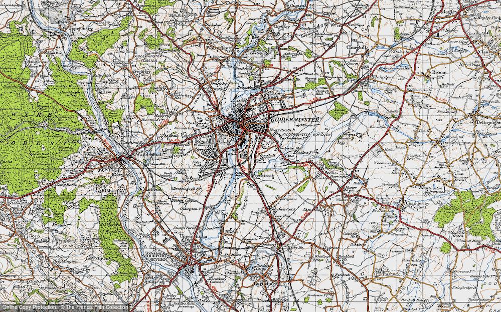 Aggborough, 1947