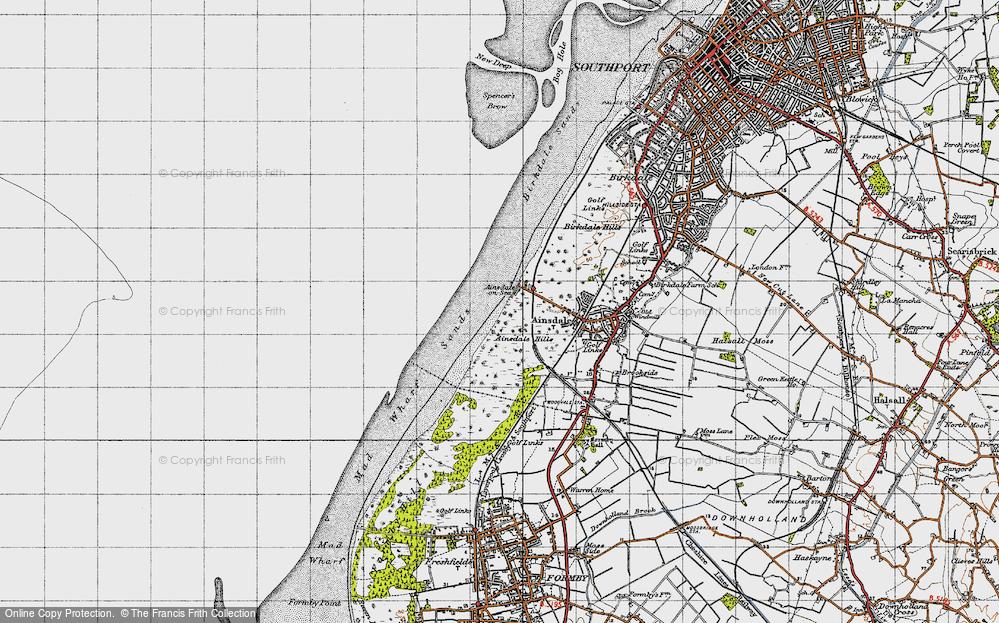 Ainsdale-on-Sea, 1947
