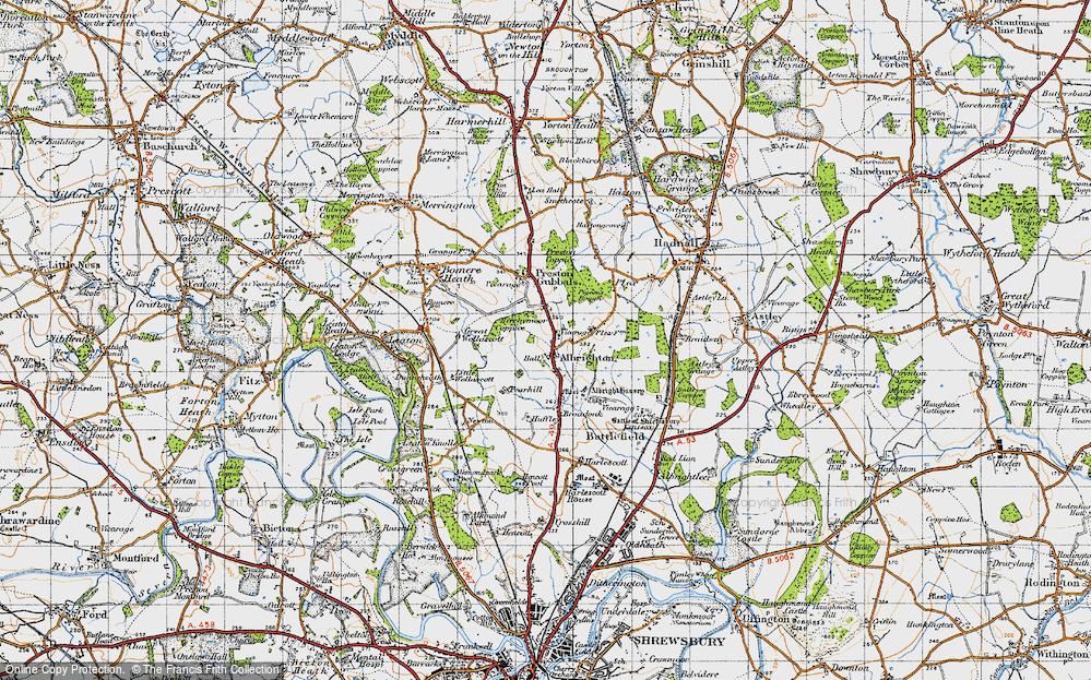 Albrighton, 1947