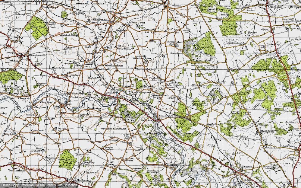 Alderford, 1945