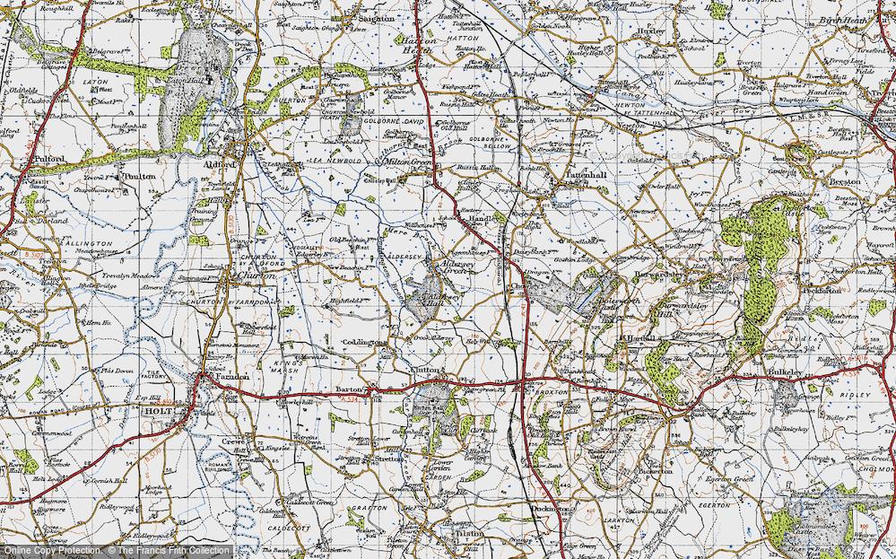 Aldersey Green, 1947