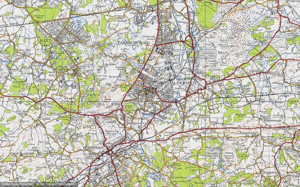 Aldershot, 1940