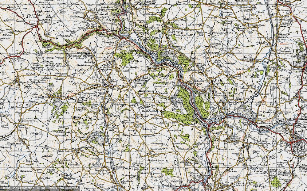 Alderwasley, 1946