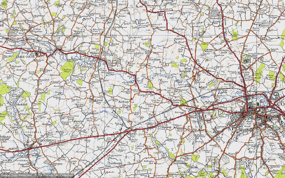 Aldham, 1945