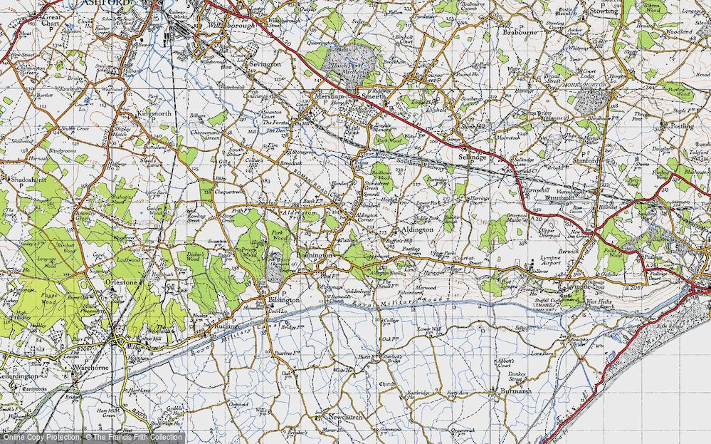 Aldington, 1940