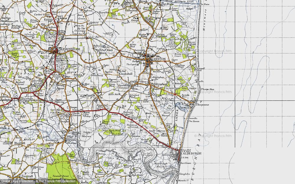 Aldringham, 1946