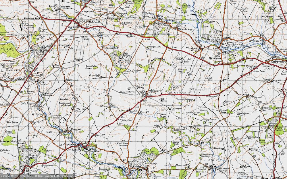Aldsworth, 1946