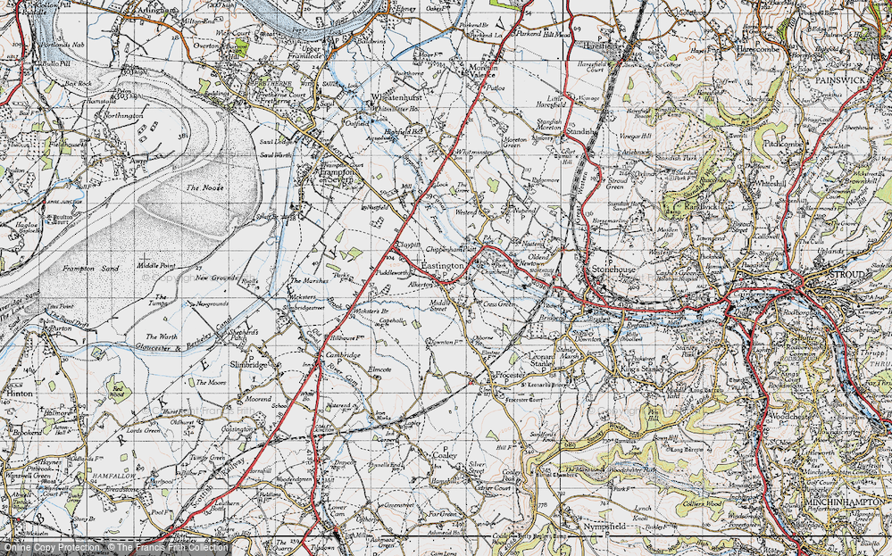 Old Map of Alkerton, 1946 in 1946