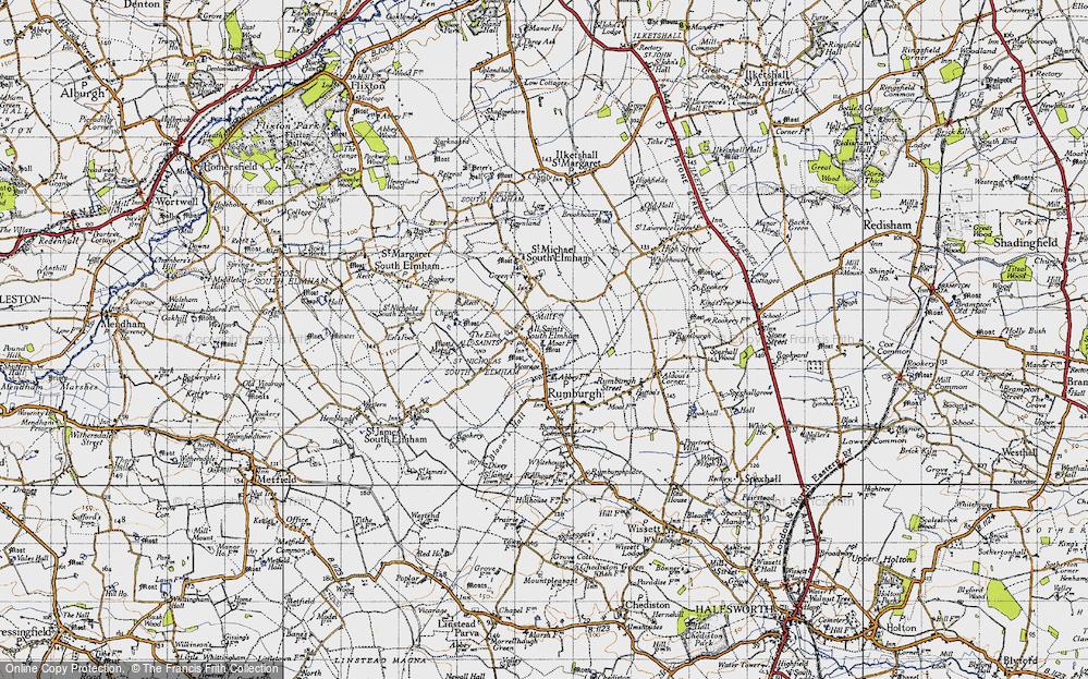 All Saints South Elmham, 1946