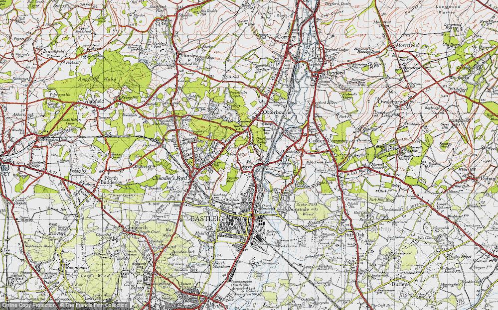 Allbrook, 1945