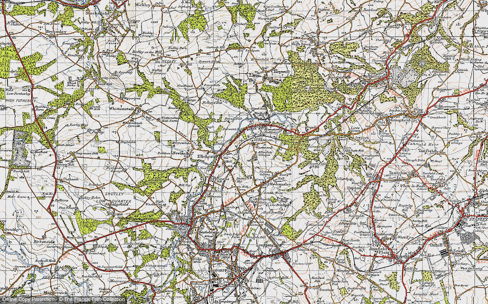Allendale Cottages, 1947