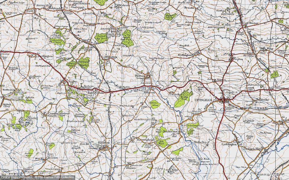 Allexton, 1946