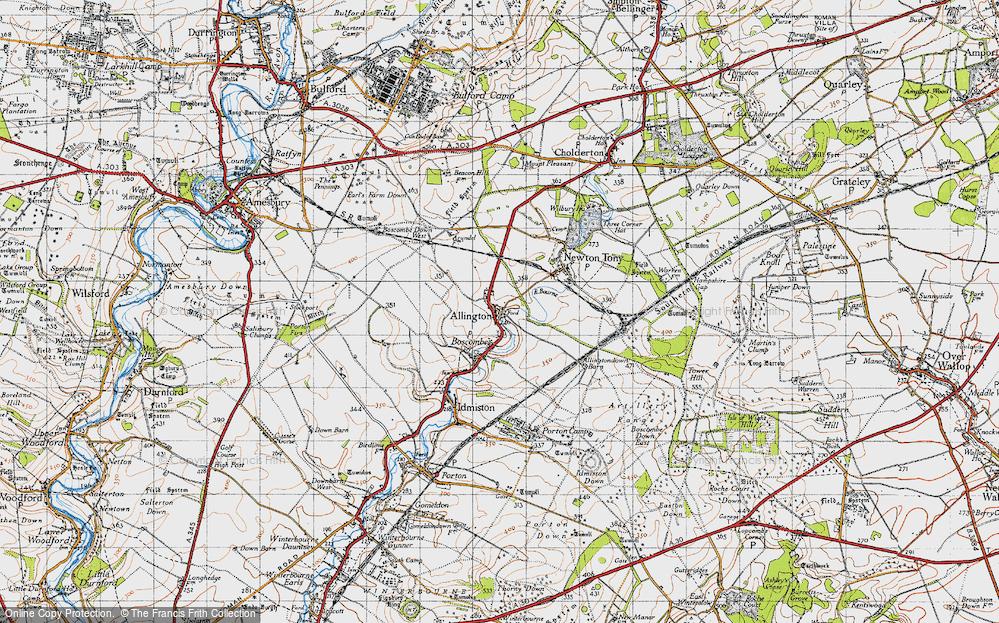 Allington, 1940