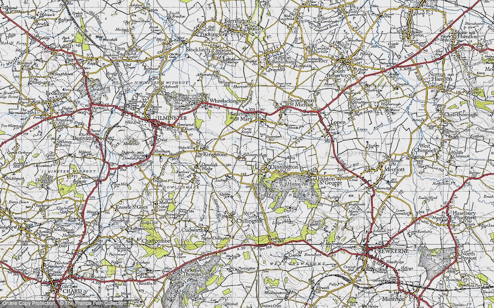 Allowenshay, 1945