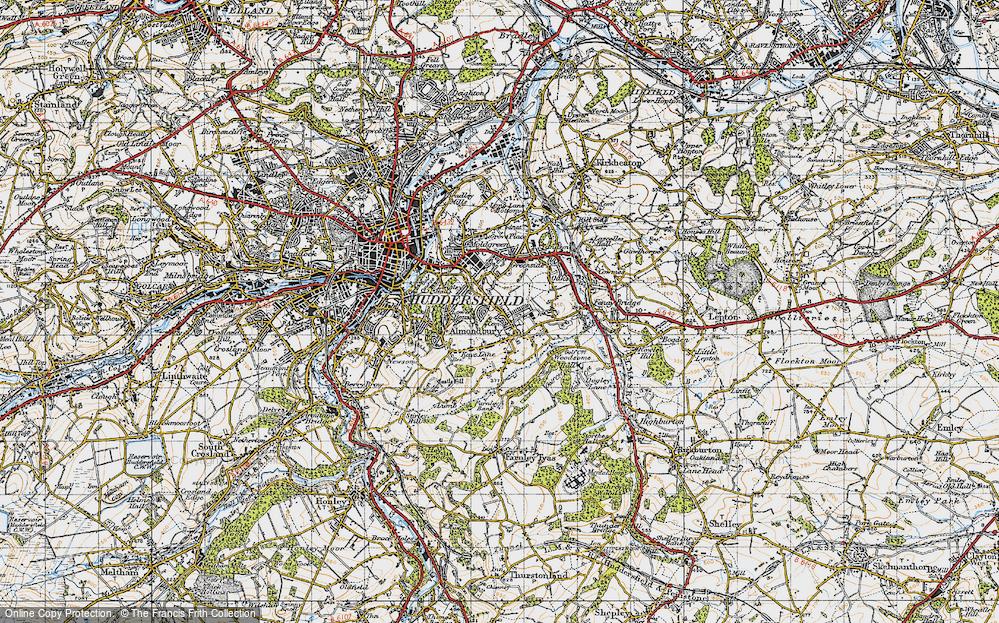 Almondbury, 1947