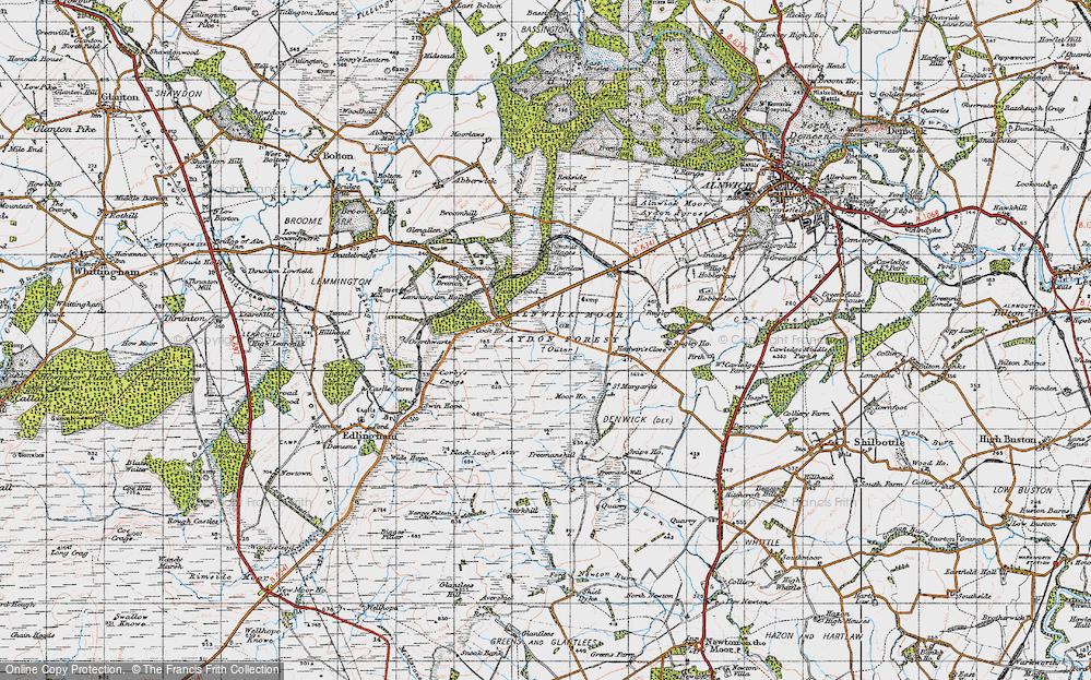 Alnwick Moor, 1947