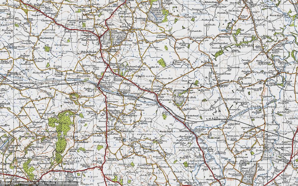Alpraham, 1947