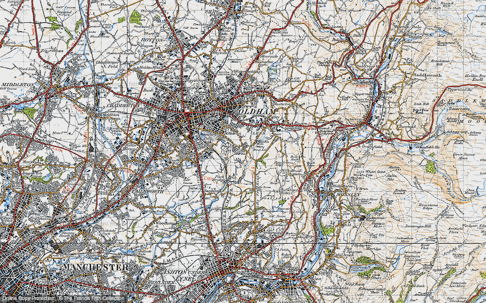 Old Map of Alt, 1947 in 1947