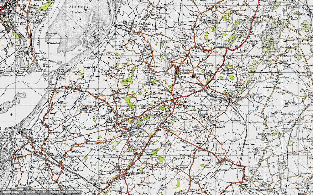 Alveston Down, 1946