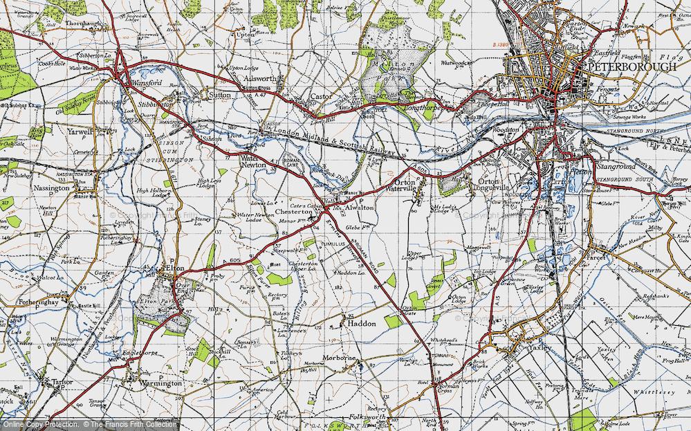 Alwalton, 1946