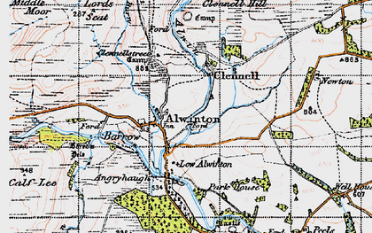 Old map of Wilkinson Park in 1947