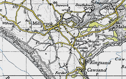 Old map of Anderton in 1946