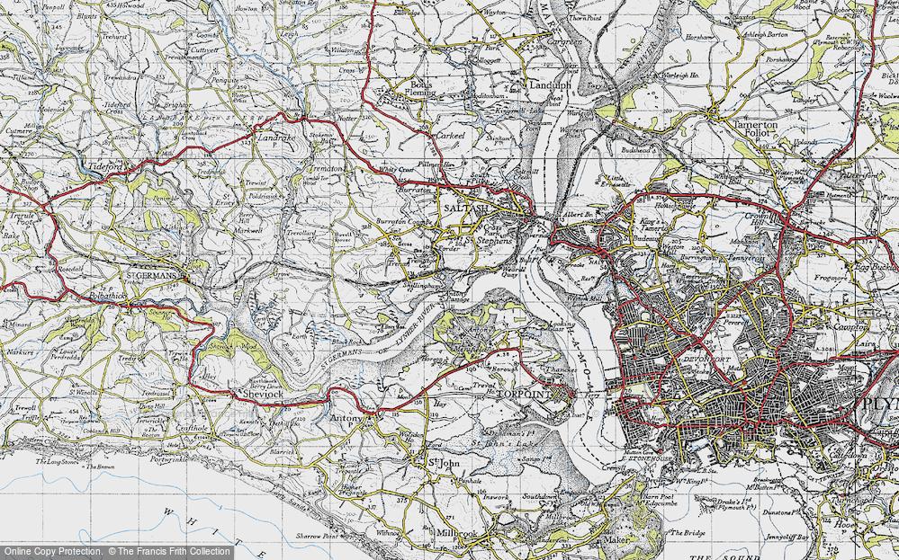 Antony Passage, 1946