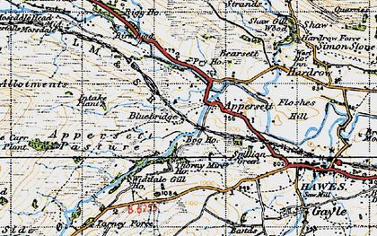 Old map of Appersett Pasture in 1947