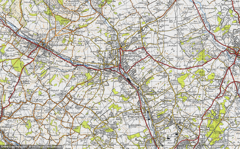Old Map of Apsley, 1946 in 1946
