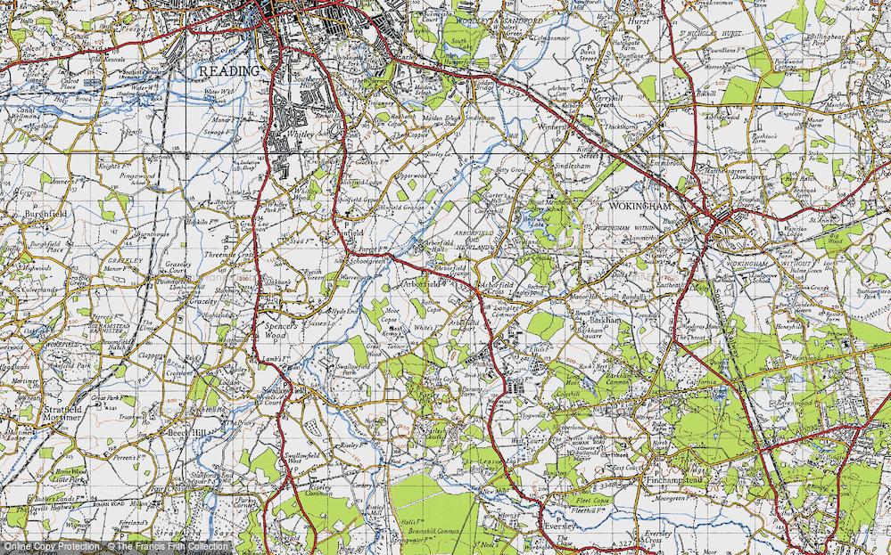 Arborfield, 1940