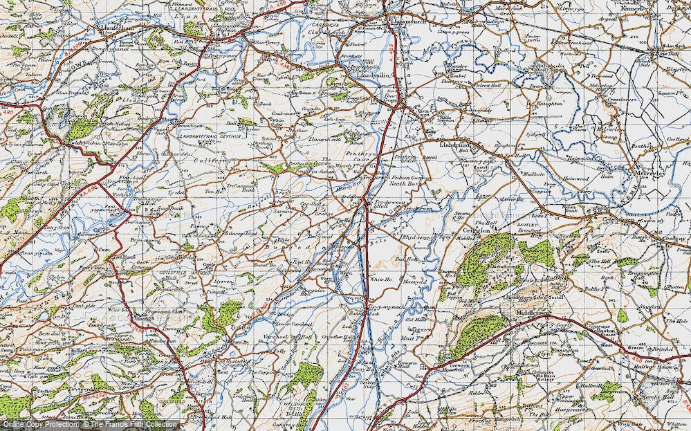 Arddleen/Arddlîn, 1947